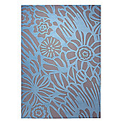 Esprit Finally Summer Light Blue Rug - 160 cm x 230 cm (5 ft 3 in x 7 ft 7 in)