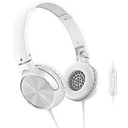 Pioneer SEMJ522T Headphones with Microphone (White)