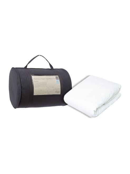 Buy Linea Double Memory Foam Mattress Topper From Our Mattress Toppers Range Tesco