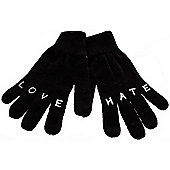 Insight Sugar and Spice Gloves - Dark Carbon - Black