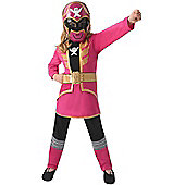 Pink Super Megaforce Power Ranger - ChilD Costume 5-6 years