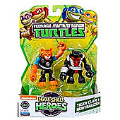 Teenage Mutant Ninja Turtles Tiger Claw and Neutralizer Half-Shell Heroes (Pack of 2)