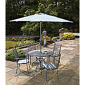 Royal Garden Classic 5-piece Round Garden Dining Set