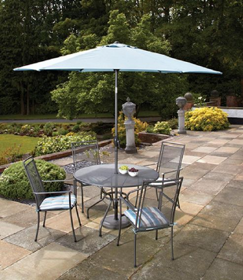 Buy Royal Garden Classic 5 Piece Round Garden Dining Set From Our Garden Furn