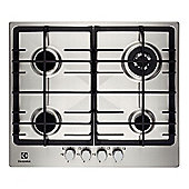 Electrolux EGG6343NOX 60cm Gas Hob in Stainless Steel 4 gas burners