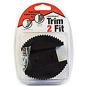 Trim2Fit Replacement Foot - I Beam/Channel Section Steps/Ladders (Pair)