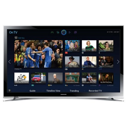 Samsung UE32H4500 32 Inch Smart WiFi Built In HD Ready 720p LED TV With Freeview HD