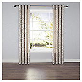 Linden Lined Eyelet Curtains - Grey