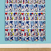 Mickey Mouse, Childrens Curtains 54s - Play - Multi
