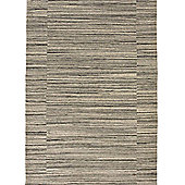 Think Rugs Cambridge Natural Grey/Beige Knotted Rug - 120 cm x 180 cm (3 ft 9 in x 5 ft 11 in)
