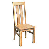 Oakinsen Westfield Timber Seat Chair (Set of 2)