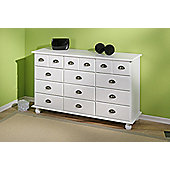 Aspect Design Susanne Chest of Drawers in White