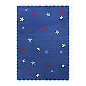 Esprit Space Stars Children's rug - 133 cm x 200 cm (4 ft 4 in x 6 ft 7 in)