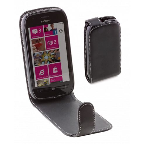 Alpha Leather Case For Lumia 710