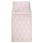 Laura Lizzie Giraffe Duvet Set Single