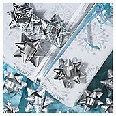 Tesco Silver Bows, 20 Pack