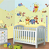 Winnie the Pooh Room Decor Kit with Height Chart