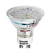 Pack of Four 4W SMD LED GU10 Light Bulbs Cool White
