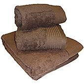 Luxury Egyptian Cotton Hand Towel - Chocolate