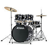 Tama Rhythm Mate 5 Piece Drumkit Inc Cymbals - Charcoal Mist RM52KH5C