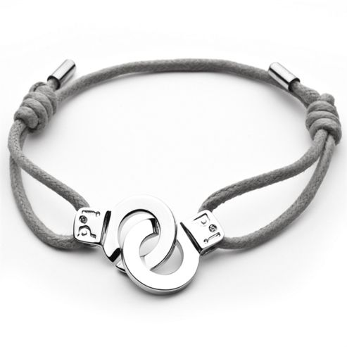 i.d x-change Cuffs of Love Bracelet - Grey Medium