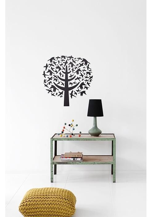 Ferm Living Bird Leaves Wall Stickers