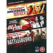 Action Movies Collection - Amsterdam Heavy / Red Line / Battleground (DVD Boxset)