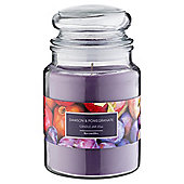 Tesco Jar Candle Damson and Pomegrante