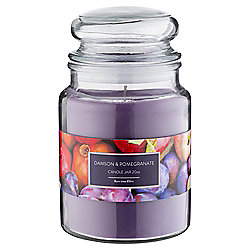 Tesco Jar Candle Damson and Pomegrante