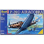 Revell P-39D Airacobra 1:32 Aircraft Model Kit - 04868