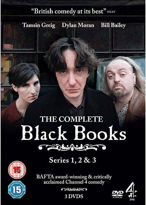 Black Books 1-3 (DVD Boxset)
