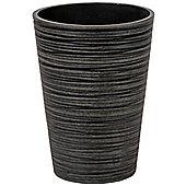 Small Brown Fibreclay Plant Pot