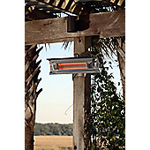 Sun Tastic Wall Mounted Infrared Patio Heater - Stainless Steel