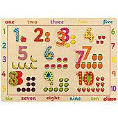 John Crane Wooden Number Puzzle