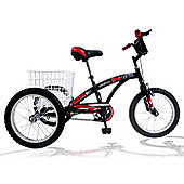 "Concept Tri-Mantis 16"" Wheel Boys Tricycle"