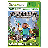 Xbox Live - 1600 Microsoft Points - Minecraft Branded