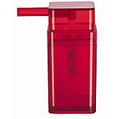 Spirella Cubo Soap Dispenser - Red