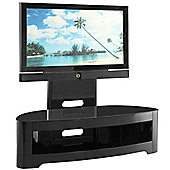 Jual JF209 Cantilever High Gloss Black TV Stand