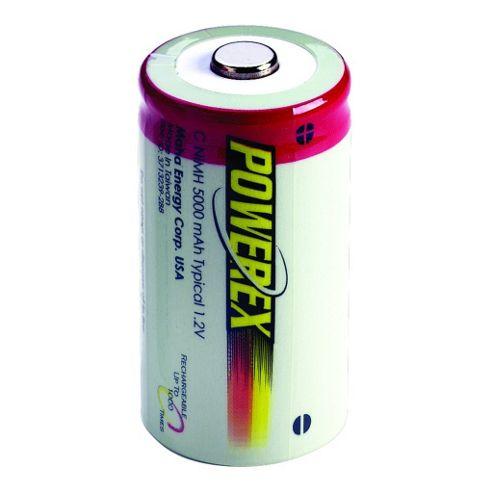 Maplin Powerex Maha Rechargeable C 5000 mAh 2-pack Battery