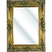 D & J Simons Windsor Mirror - Gold - 183cm H x 122cm W