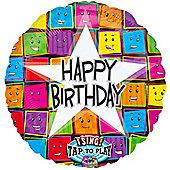 Happy Birthday Faces Sing-A-Tune Balloon (each)