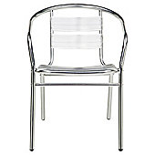 Parisienne Aluminium Stacking Chair
