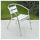 Parisienne Aluminium Stacking Chair