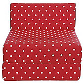 Sit n Sleep Red Polka
