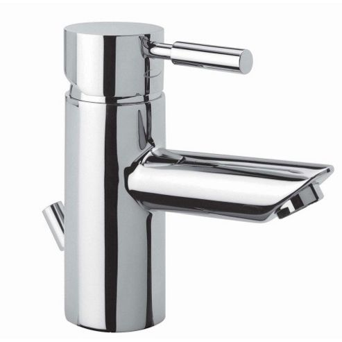 Tavistock Kinetic Single Lever Mono Basin Mixer Tap with Pop-up Waste
