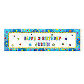 Amscan - Personalised Giant Banner - 1.65m x 50.8cm - Party
