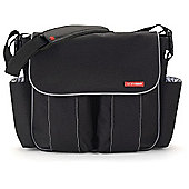 Skip Hop Dash Deluxe Edition Changing Bag Black/Silver