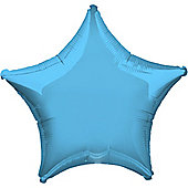 Pale Blue Star Balloon - 19' Foil (each)