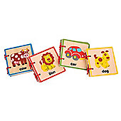Bigjigs Toys Baby Books (Pack of 4)