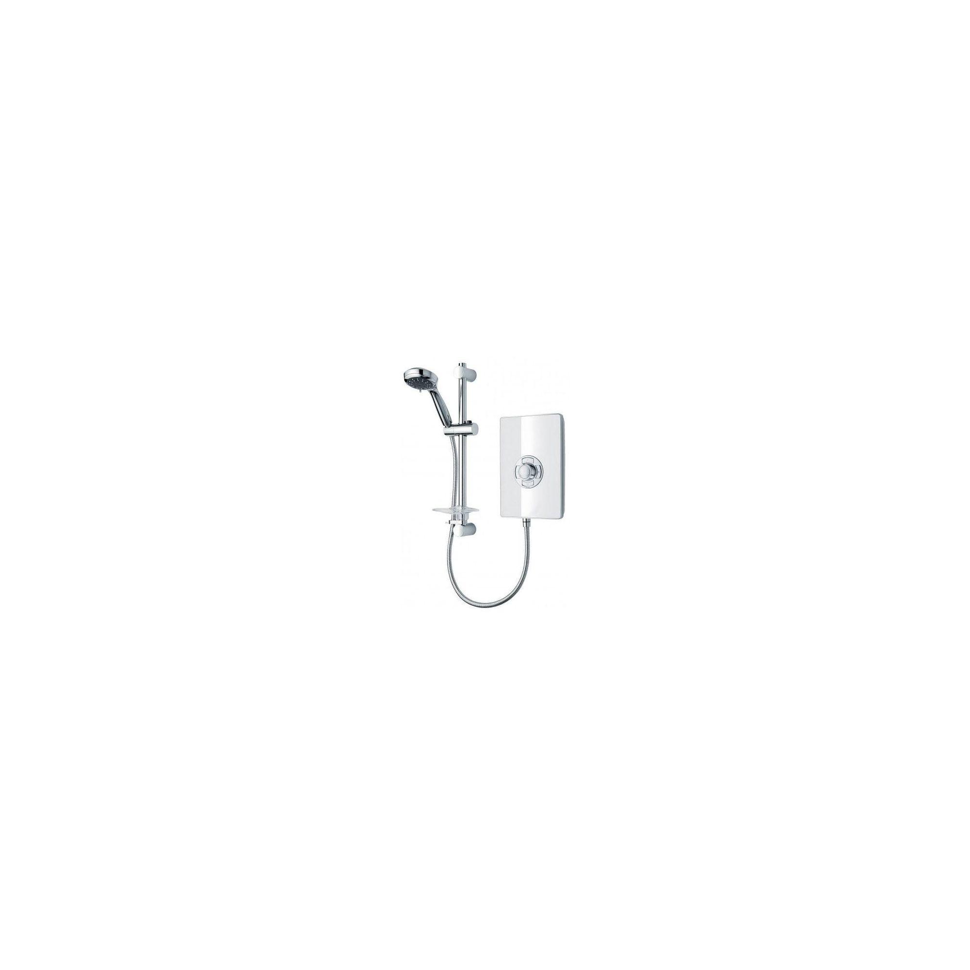 Triton Aspirante Electric Shower White Gloss 8.5 kW at Tescos Direct